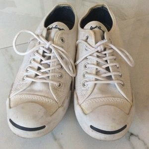 Jack Purcell white converse preppy optic white